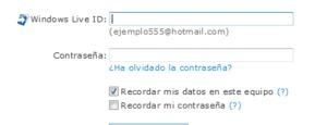 Como cambiar la contraseña de hotmail