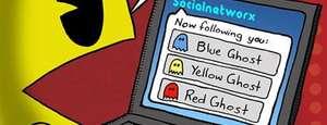 Pacman en Twitter