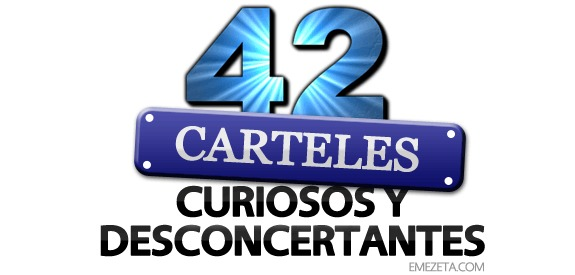 42 carteles curiosos y desconcertantes emezeta com for Garajes originales