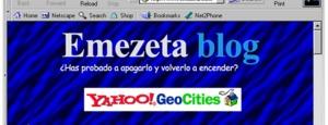Buscadores de Internet de los 90