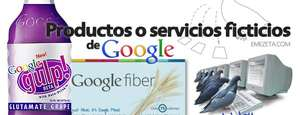 12 productos ficticios de Google