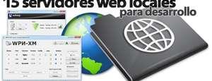 15 aplicaciones para montar servidores web en local