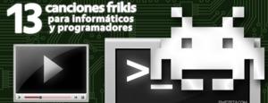 13 canciones frikis para informáticos y programadores