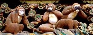 Los tres monos místicos