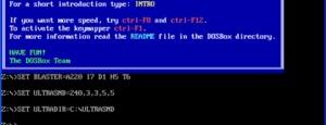 Ejecutar programas/juegos DOS en Windows