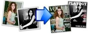 Como convertir fotos en portada de revista