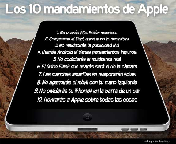 10 mandamientos apple steve jobs