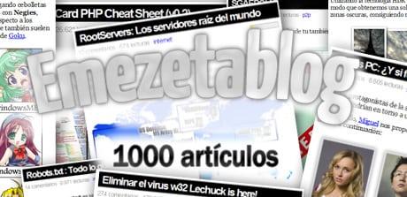 1000 articulos