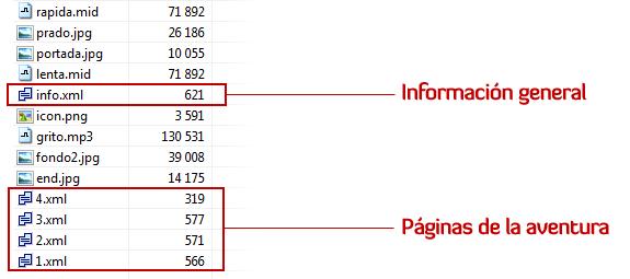 epa format formato fichero file