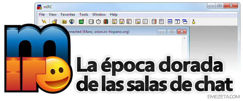 IRC: Salas de chat mediante mIRC en IRC-Hispano