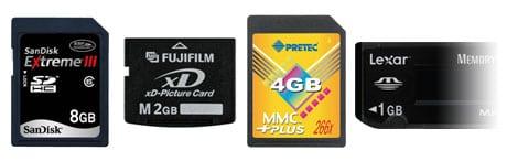 SD SDHC xD MMC MS MSPRO card reader lector tarjetas