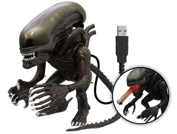 accesorios alien usb lengua iluminada