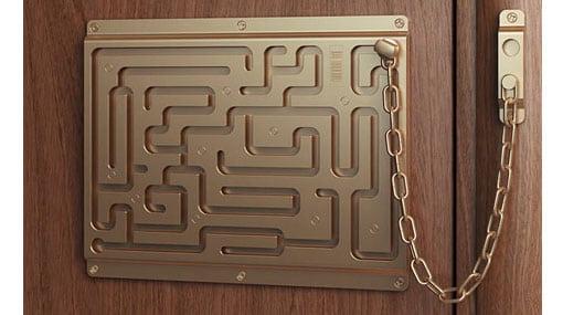 accesorios cadena puerta