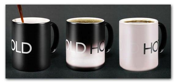 accesorios taza frío calor cold hot mug