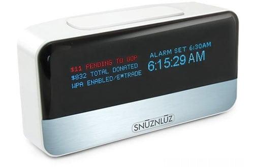accesorios despertador wifi donación