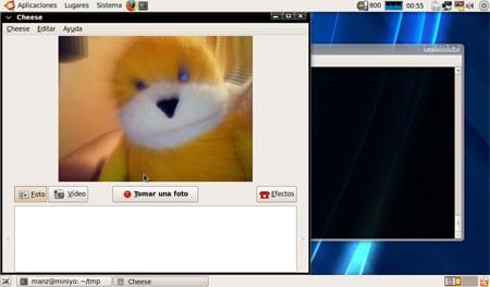acer aspire one webcam