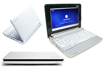 acer aspire one ultraportatil netbook
