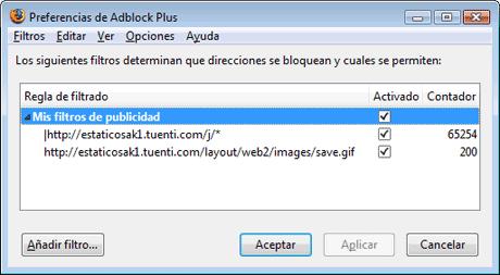adblock plus tuenti imagenes fotos