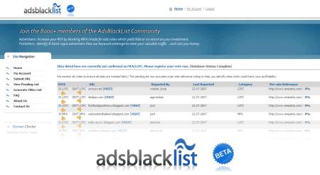 adsblacklist adsense blacklist