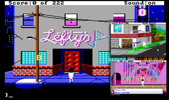 leisure larry suit 1 2 3 aventura gráfica