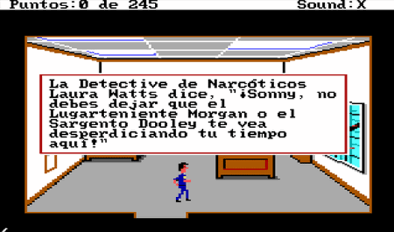 police quest aventura gráfica