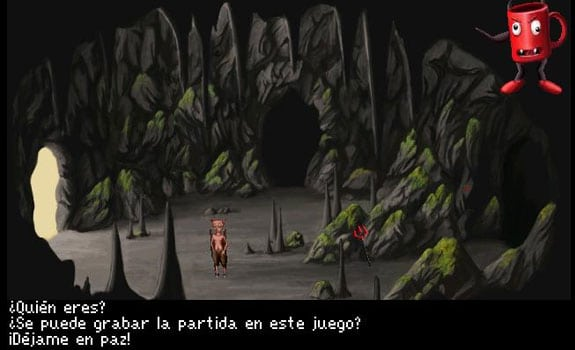 quest for Yrolg aventura gráfica