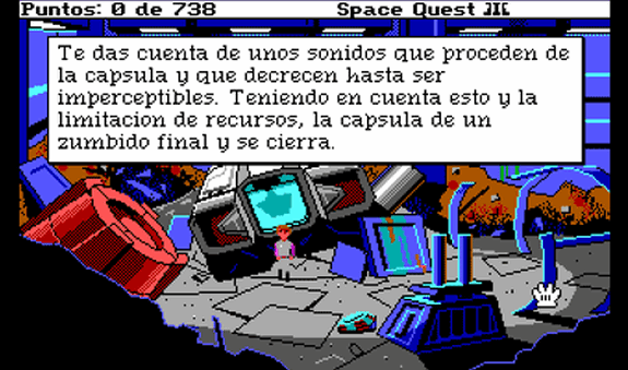 space quest aventura gráfica