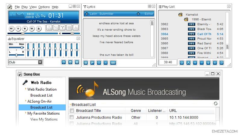 Reproductores de música: Alsong