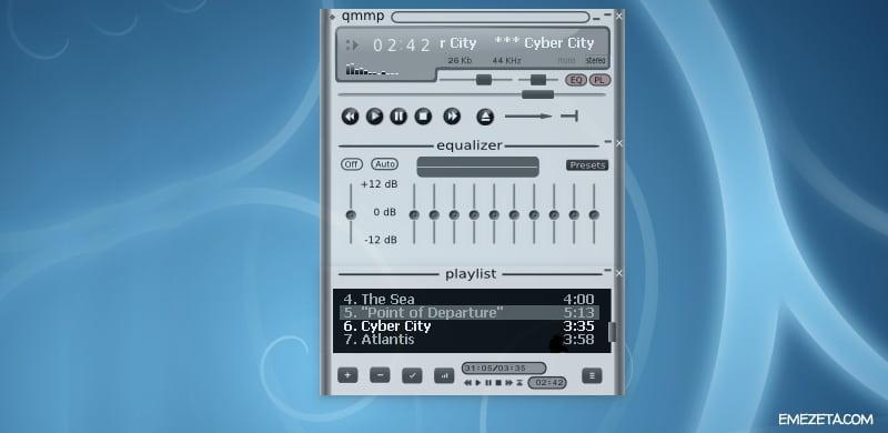 Reproductores de música: Qmmp
