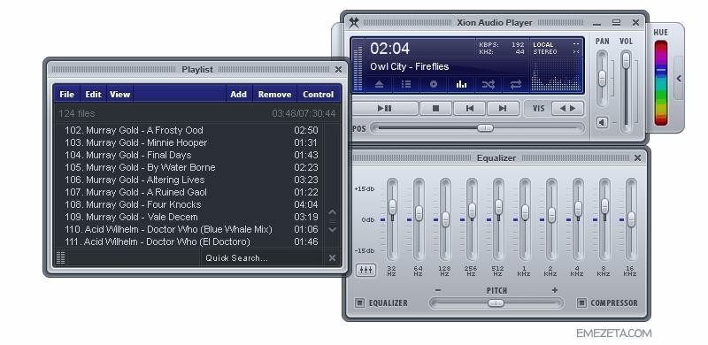 Reproductores de música: Xion