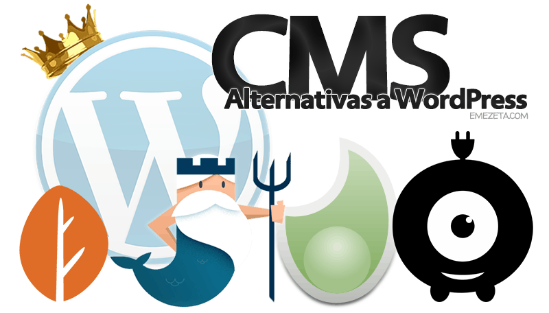 Alternativas a Wordpress: Gestores de contenido simples