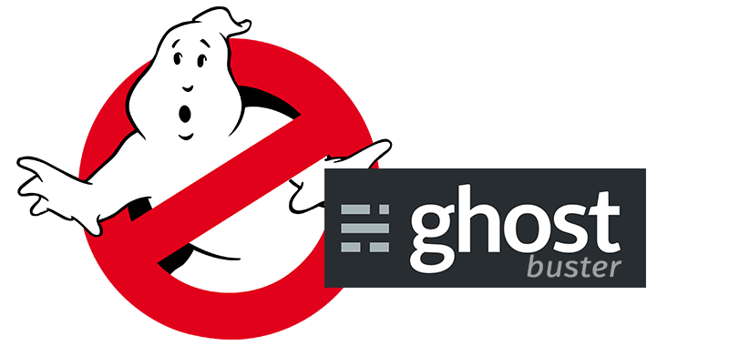 Alternativas a WordPress: Ghost buster
