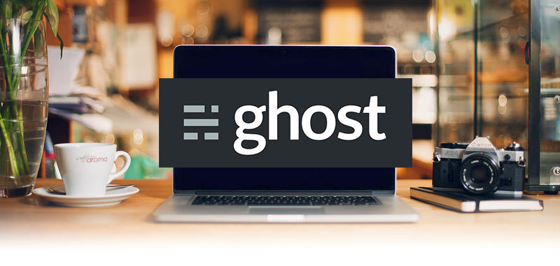 Alternativas a WordPress: Ghost CMS blogs