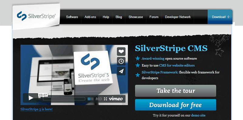 Alternativas a WordPress: SilverStripe CMS