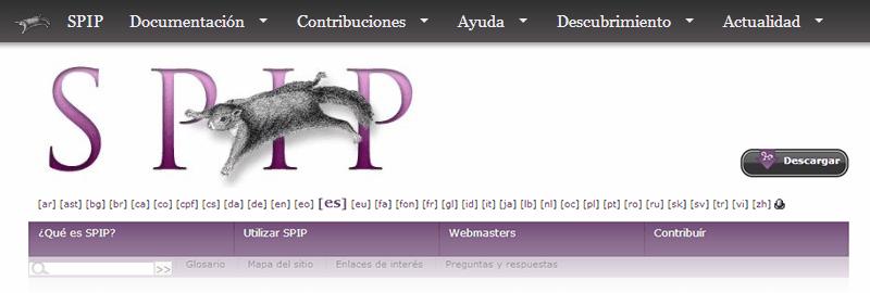 Alternativas a WordPress: SPIP
