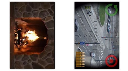 virtual fireplace sniper shot android apps aplicaciones