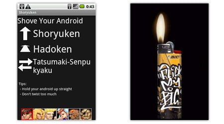 shoryuken bic concert lighter android apps aplicaciones