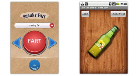 sneaky fart spin bottle android apps aplicaciones