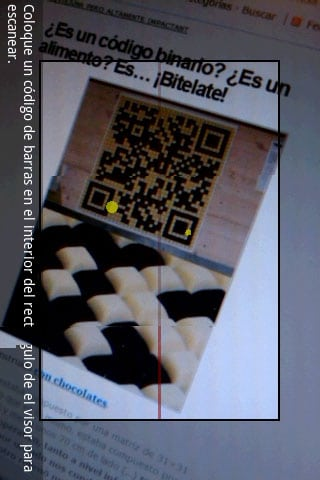 barcode scanner codigos barra QR android