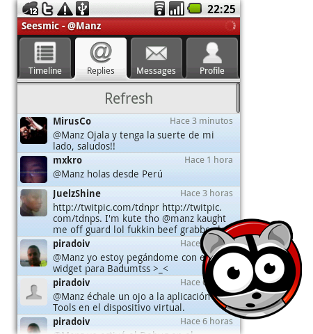 seesmic twitter android