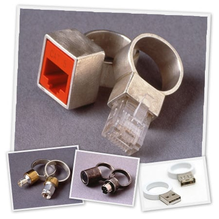 anillo freak geek RJ45 ring