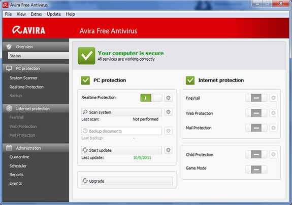 Avira: Un antivirus gratuito para Windows