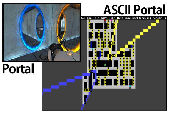 ASCII Portal Joe Larson