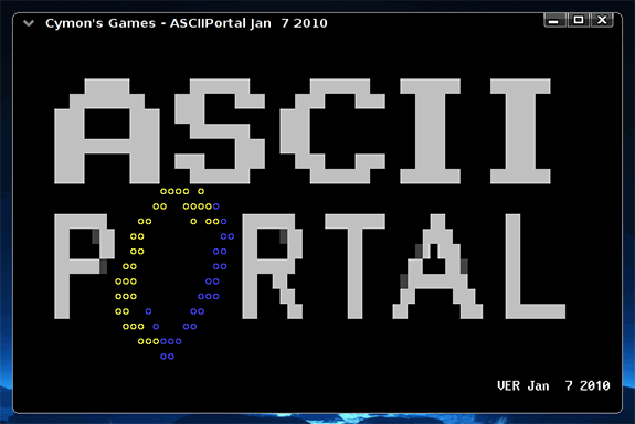 ASCII Portal
