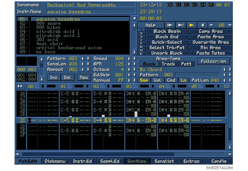 Trackers: Componer música por ordenador Digitrakk