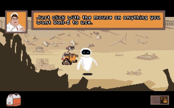 Aventura gráfica: Wall-E