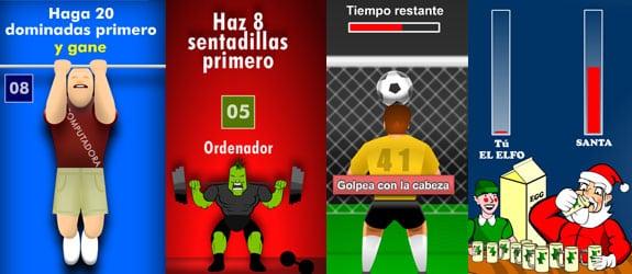 Banner que presenta un mini juego competitivo en el que hay que ganar
