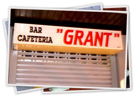 bar cafeteria grant SQL