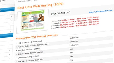 best unix hosting