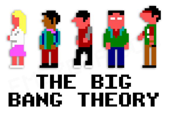 Monkey Island - Página 2 Big-bang-theory-8-bits